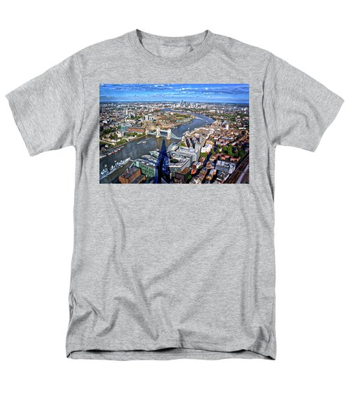 Men's T-Shirt  (Regular Fit) featuring the photograph Above The Shadow Of The Shard by Jim Albritton