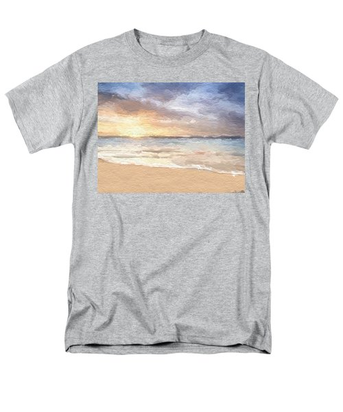 Abstract Morning Tide Men's T-Shirt  (Regular Fit) by Anthony Fishburne