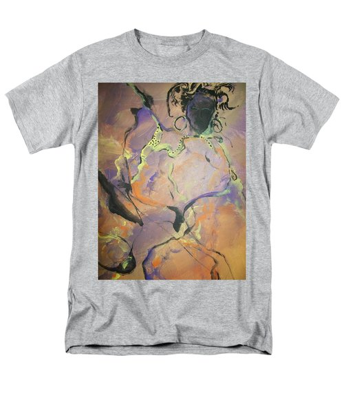 Abstract Woman Men's T-Shirt  (Regular Fit) by Raymond Doward
