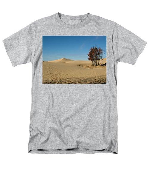 Men's T-Shirt  (Regular Fit) featuring the photograph Across The Sand 2 by Tara Lynn