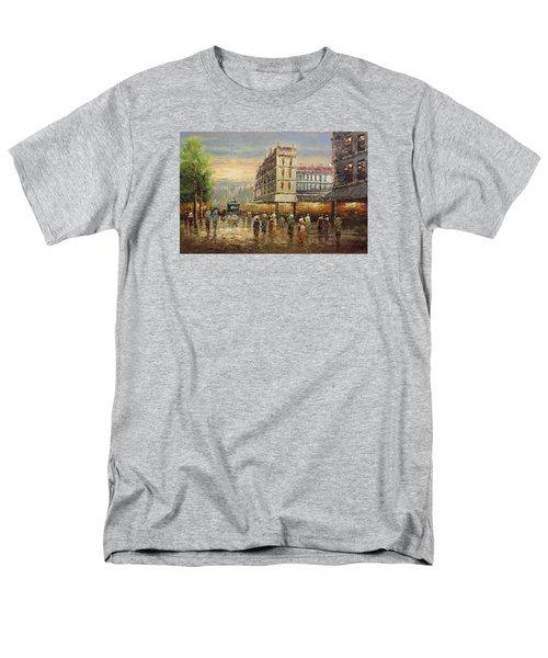 Acrylic Msc 132 Men's T-Shirt  (Regular Fit) by Mario Sergio Calzi
