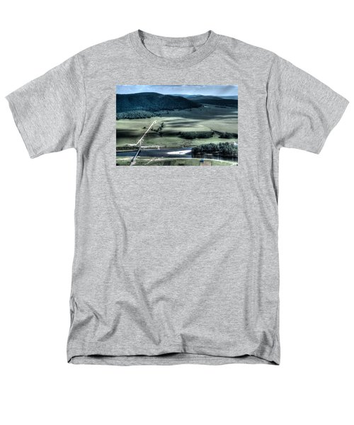 Aerial View Of Rolling Russian Hills Men's T-Shirt  (Regular Fit) by John Williams