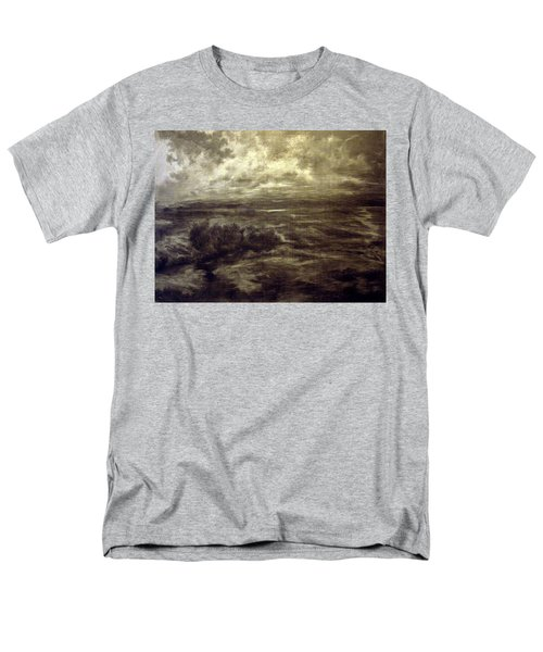 Men's T-Shirt  (Regular Fit) featuring the drawing After Rain by Mikhail Savchenko