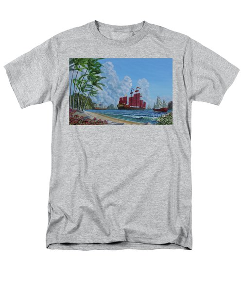 Men's T-Shirt  (Regular Fit) featuring the painting After The Storm by Anthony Lyon