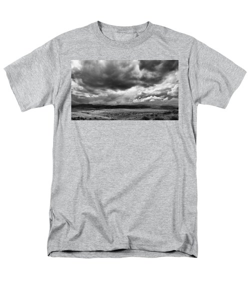 Men's T-Shirt  (Regular Fit) featuring the photograph Afternoon Storm Couds by Monte Stevens