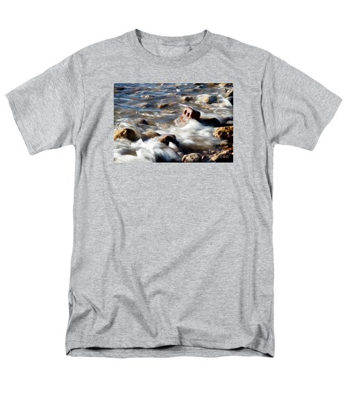 Men's T-Shirt  (Regular Fit) featuring the photograph Against The Elaments. by Gary Bridger