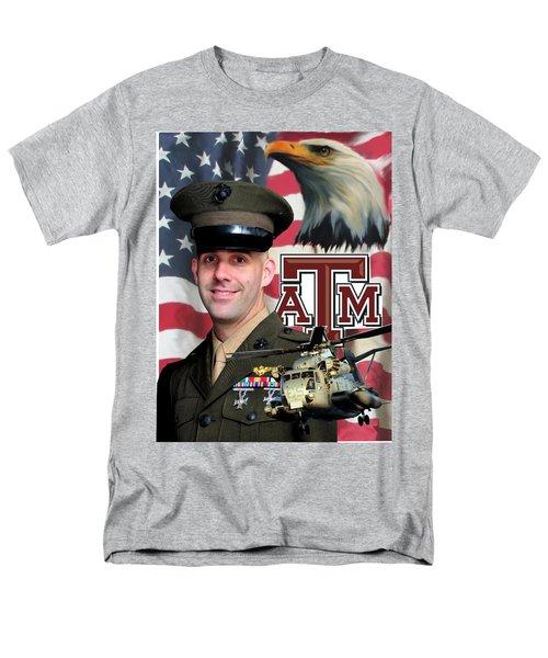 Aggie Major Men's T-Shirt  (Regular Fit) by Ken Pridgeon