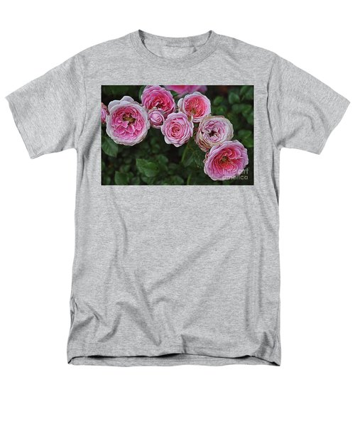 Men's T-Shirt  (Regular Fit) featuring the photograph Aging Beauties by Gina Savage