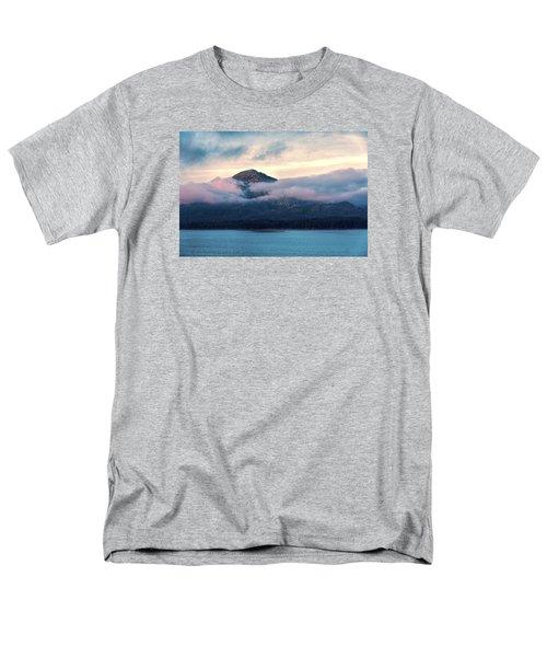 Men's T-Shirt  (Regular Fit) featuring the photograph Alaska Dawn 2 by Lewis Mann