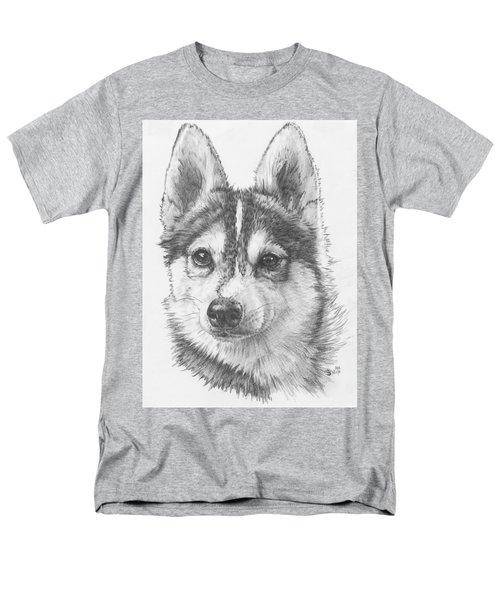 Alaskan Klee Kai Men's T-Shirt  (Regular Fit) by Barbara Keith