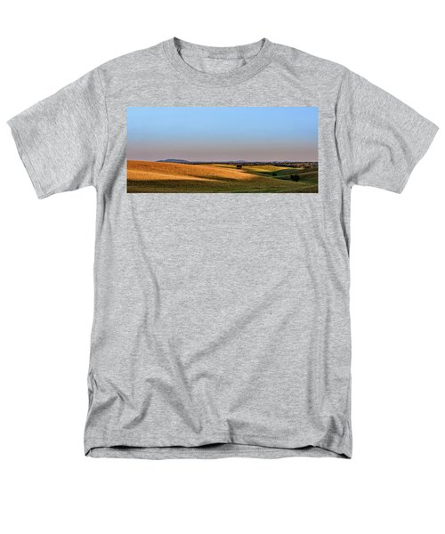 Men's T-Shirt  (Regular Fit) featuring the photograph Alentejo Fields by Marion McCristall