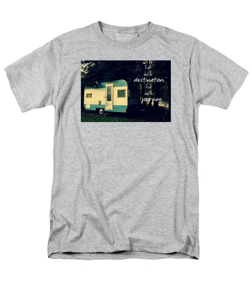 All About The Journey Men's T-Shirt  (Regular Fit) by Robin Dickinson