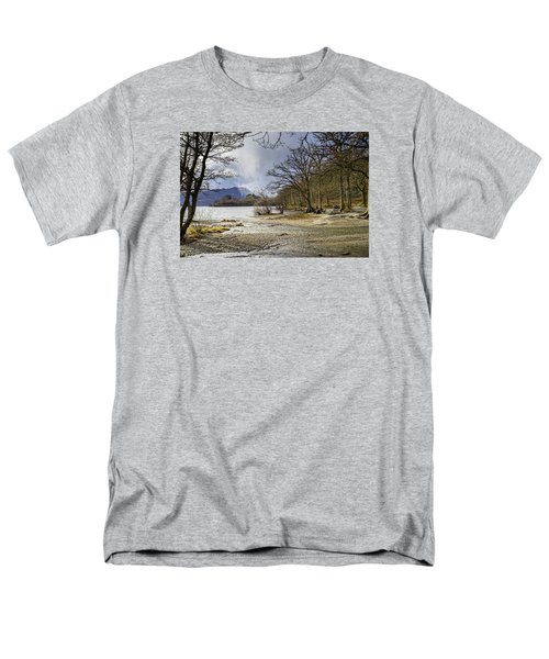 Men's T-Shirt  (Regular Fit) featuring the photograph All Seasons At Loch Lomond by Jeremy Lavender Photography