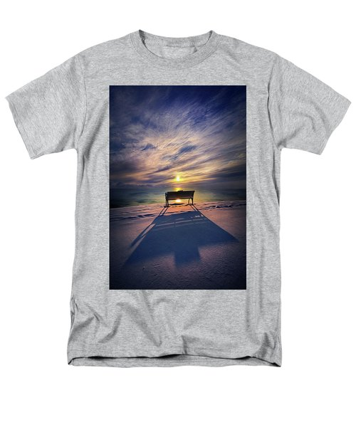 Men's T-Shirt  (Regular Fit) featuring the photograph All Shadows Chase Swift by Phil Koch