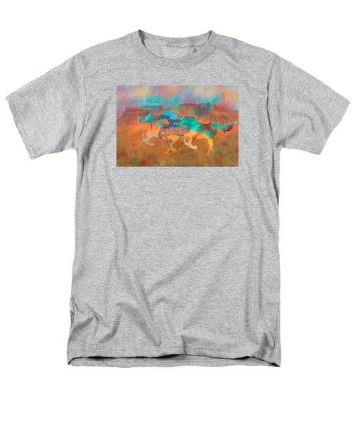 All The Pretty Horses Men's T-Shirt  (Regular Fit) by Christina Lihani