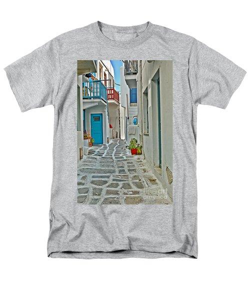 Alley Way Men's T-Shirt  (Regular Fit) by Joe  Ng