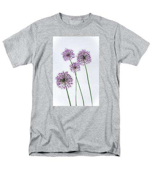 Alliums Standing Tall Men's T-Shirt  (Regular Fit) by Susan  McMenamin