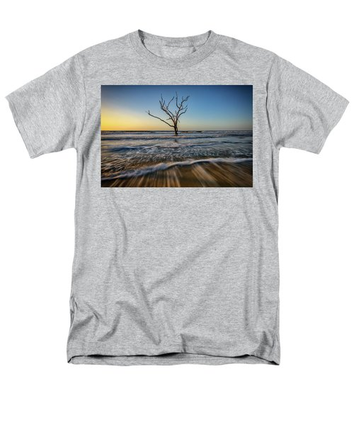 Men's T-Shirt  (Regular Fit) featuring the photograph Alone In The Water by Rick Berk