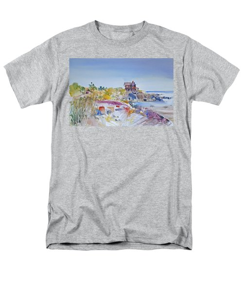 Along The Coast Men's T-Shirt  (Regular Fit) by P Anthony Visco