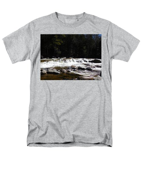 Along The Swift River Men's T-Shirt  (Regular Fit) by Catherine Gagne