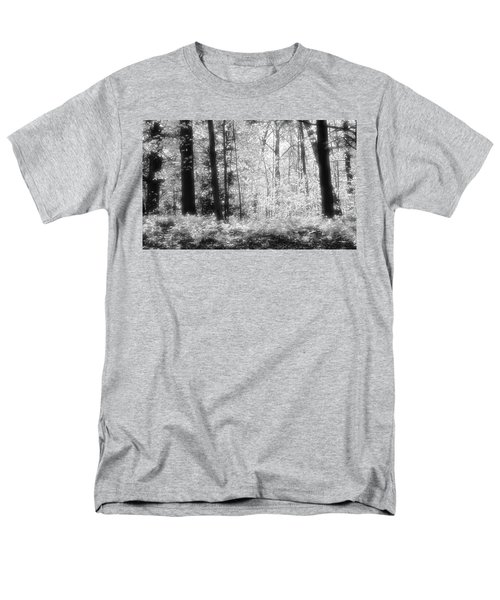 Along The Top Bw  Men's T-Shirt  (Regular Fit) by Lyle Crump