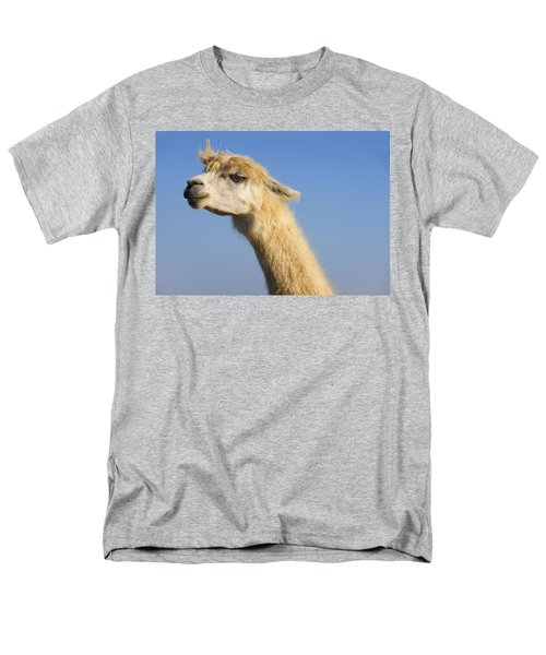 Men's T-Shirt  (Regular Fit) featuring the photograph Alpaca by Skip Hunt