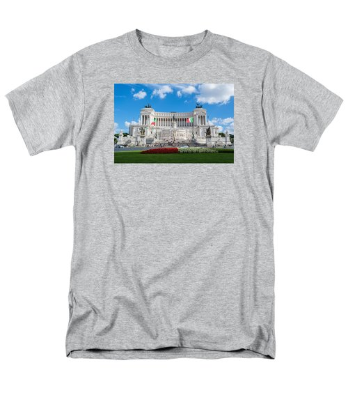 Altare Della Patria-3344 Men's T-Shirt  (Regular Fit) by Alex Ursache