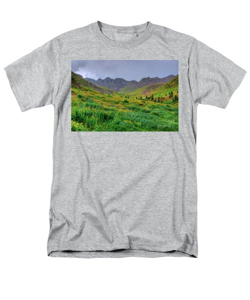 Men's T-Shirt  (Regular Fit) featuring the photograph American Basin Summer Storm by Teri Atkins Brown