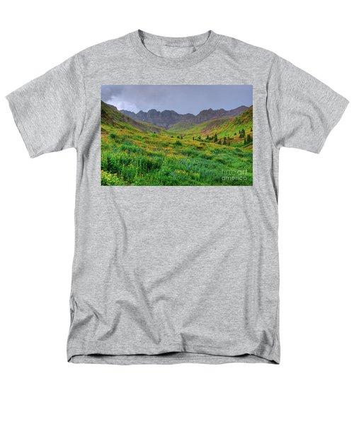 American Basin Summer Storm Men's T-Shirt  (Regular Fit) by Teri Brown