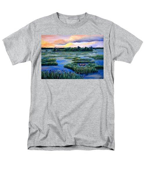 Amongst The Reeds Men's T-Shirt  (Regular Fit) by Renate Nadi Wesley
