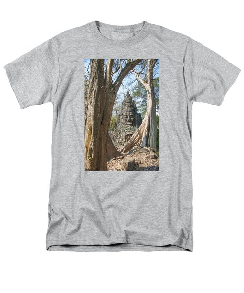Angkor Thom South Gate Men's T-Shirt  (Regular Fit) by Rob Hemphill