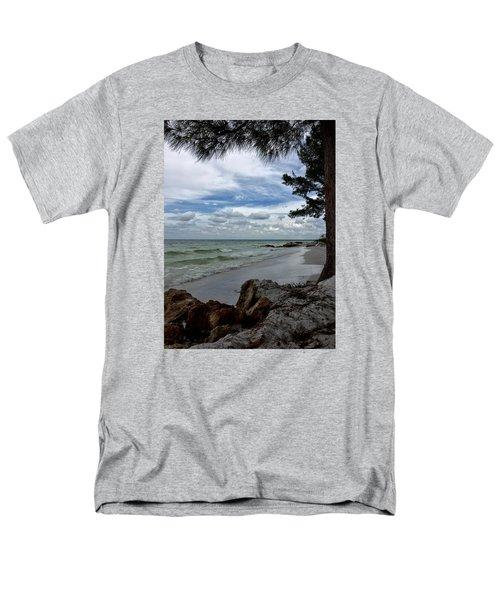 Anna Maria Island  Men's T-Shirt  (Regular Fit) by Jean Marie Maggi