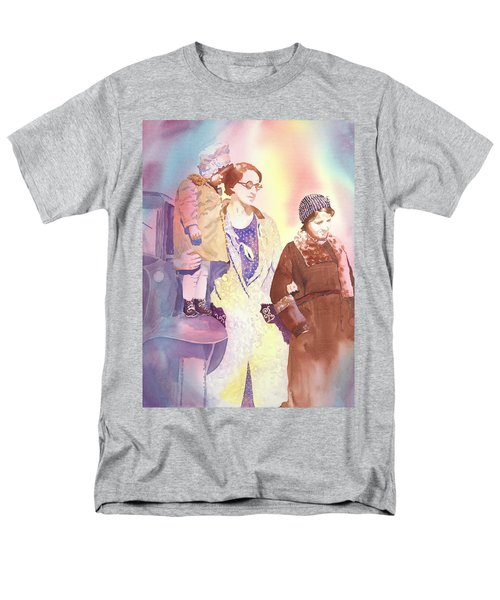 Anna Nation And Her Girls, 1932      Men's T-Shirt  (Regular Fit) by Tara Moorman