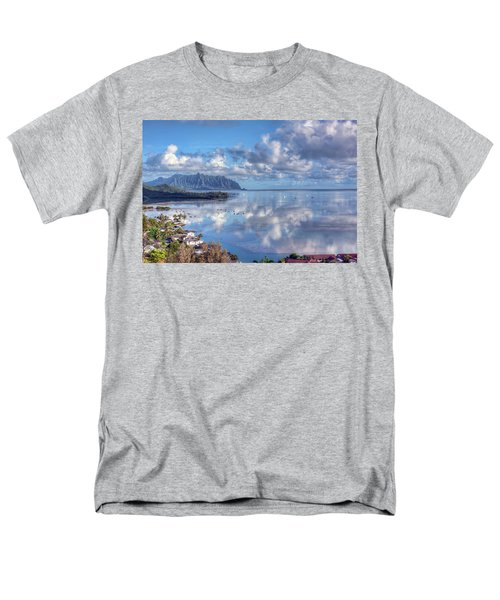 Another Kaneohe Morning Men's T-Shirt  (Regular Fit) by Dan McManus