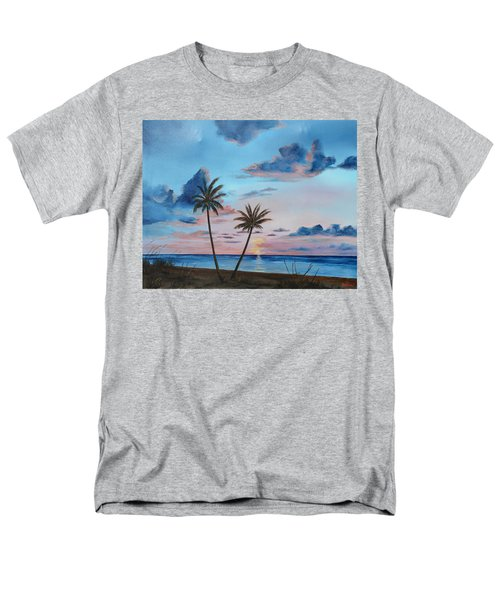 Another Paradise Sunset Men's T-Shirt  (Regular Fit) by Lloyd Dobson