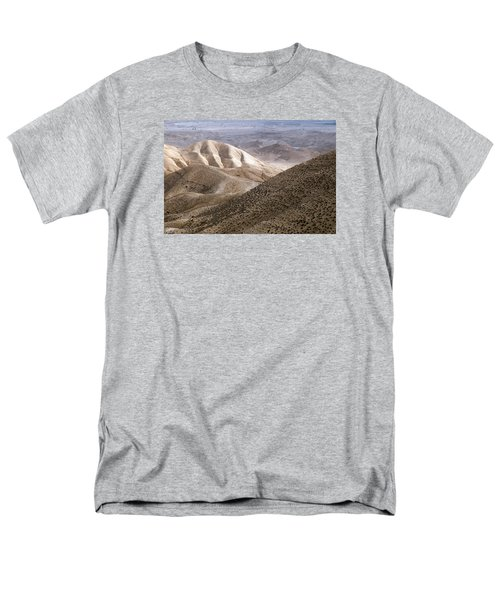 Another View From Masada Men's T-Shirt  (Regular Fit) by Dubi Roman