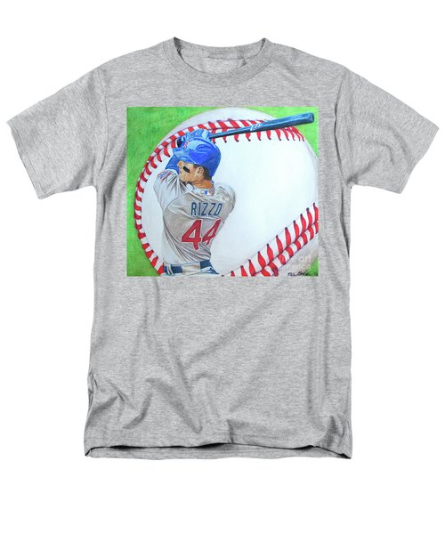 Anthony Rizzo 2016 Men's T-Shirt  (Regular Fit) by Melissa Goodrich