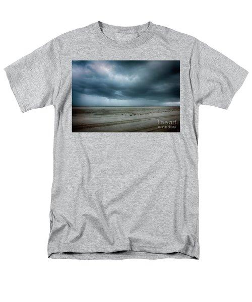 Approaching Storm On Ocracoke Outer Banks Men's T-Shirt  (Regular Fit) by Dan Carmichael