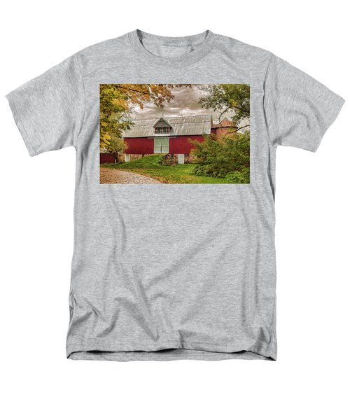 A.r. Potts Barn Men's T-Shirt  (Regular Fit) by Trey Foerster
