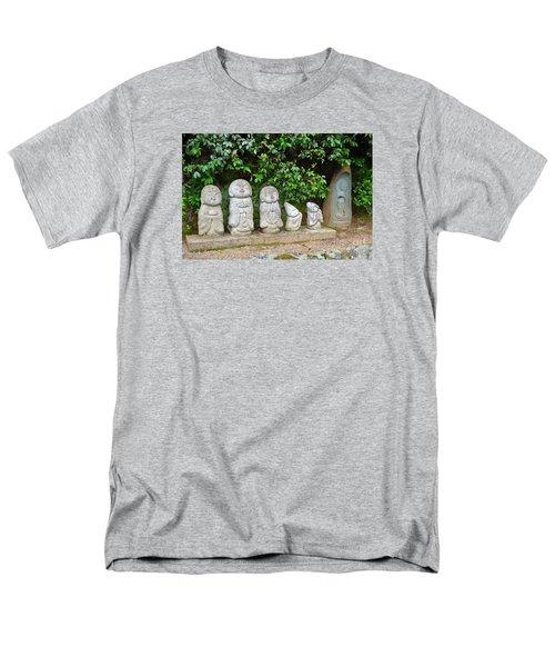 Arashiyama Street Buddah Statues Men's T-Shirt  (Regular Fit)