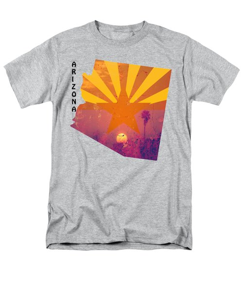 Arizona Men's T-Shirt  (Regular Fit) by Beverly Guilliams