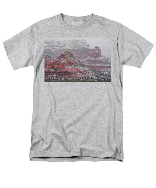 Arizona Winter Men's T-Shirt  (Regular Fit) by Racheal Christian