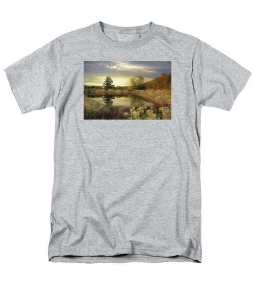 Men's T-Shirt  (Regular Fit) featuring the photograph Arrival Of Dawn by John Rivera