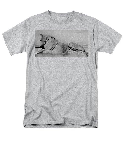 Art Deco Great Dane Men's T-Shirt  (Regular Fit) by Richard Ortolano