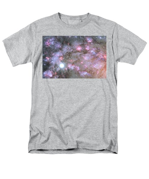 Men's T-Shirt  (Regular Fit) featuring the digital art Artist's View Of A Dense Galaxy Core Forming by Nasa