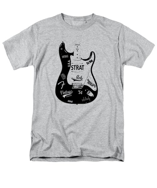 Fender Stratocaster 54 Men's T-Shirt  (Regular Fit) by Mark Rogan