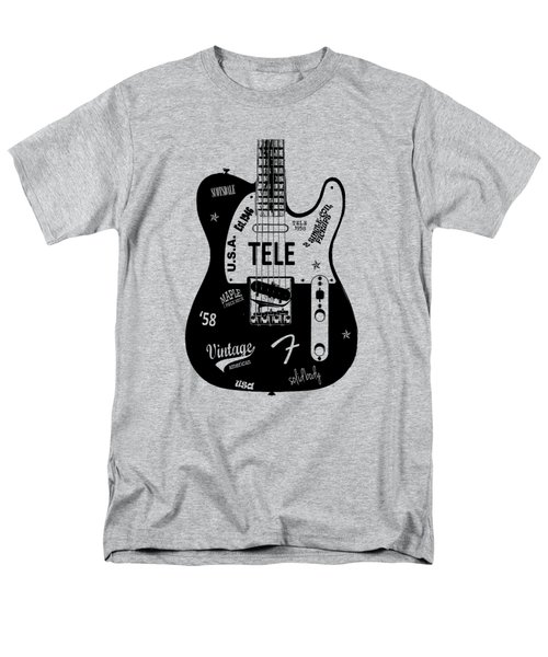 Fender Telecaster 58 Men's T-Shirt  (Regular Fit) by Mark Rogan