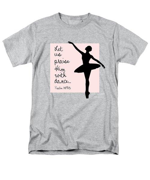 Ballerina Praise Men's T-Shirt  (Regular Fit)