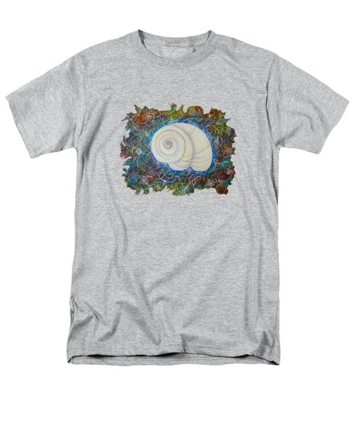 Moonsnail Lace Men's T-Shirt  (Regular Fit) by Deborha Kerr