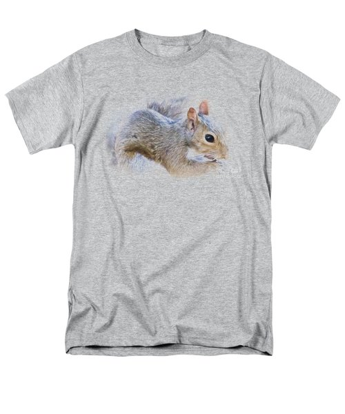 Another Peanut Please - Squirrel - Nature Men's T-Shirt  (Regular Fit) by Barry Jones